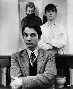 Jean-Pierre Léaud avec les trois visages d'Antoine Doinel.
