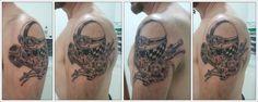 Harley Davidson Skull Bike Tattoo photo - 1