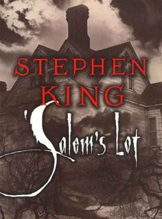 Salem's Lot. some day I'll pin the story of this book, a bat, a laundry basket and Bram Stoker's Dracula poster.
