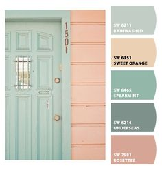 Instantly turn any picture into a palette with ColorSnap, created for you by Sherwin-Williams. Summer Color Palettes, Color Schemes Colour Palettes, Colour Pallette, Summer Colors, Color Combos, Coral Color Schemes, Orange Color Palettes, Room Colors, House Colors