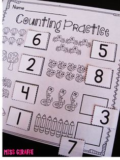 Counting activities that are super fun and hands on