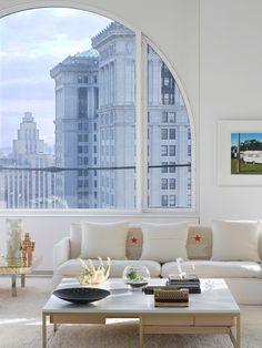 architect David Hotsona and decorator Ghislain Viñas.....windows