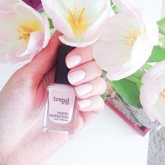 Auch die Nägel dürfen im Sommerlichen Pastellton glänzen  @dm_trenditup #pastelperfection in der Nummer 010  Die Farbe geht schon mehr ins weiße mit einem wirklich Zarten rosa Unterton  Ich wünsche allen Müttern einen schönen Muttertag, genießt den wunderschönen Sonnenschein ☀️#beauty #nailcare #nailpolish #Nagellack #trenditup #summernails