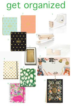 get organized for Spring!