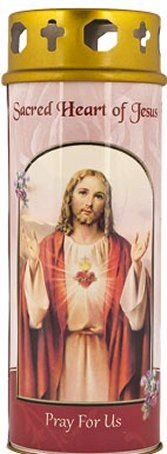 Sacred Heart of Jesus Candle with Italian Art Work Jesus Candles, Pillar Candles, Heart Of Jesus, Italian Art, Sacred Heart, Pray, Art Work, Work Of Art