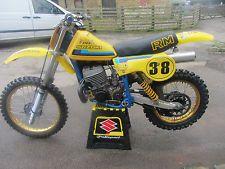 Suzuki RM400 1980 Twinshock Motocross, not evo or classic