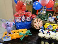 Decoração de Festa Galinha Pintadinha   Doce de Biscuit   Elo7