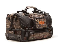 Just for does rolling camo bag with changing mat Hunting Clothes, Hunting Gear, Hunting Stuff, Camo Bag, Skate Wheels, What A Girl Wants, Baggage Claim, Broken Zipper, Mossy Oak