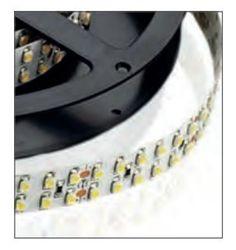 LAMPO LEDADDPIP64BN STRISCIA A LED STRIP LED 2,5 MT  POTENZA AL MT= 38.4W ALIMENTAZIONE= 24V DC LUMEN AL MT= 3200lm TEMPERATURA DI COLORE 4000K BIANCO NATURALE CRI >80Ra 120° IP 64 FINITURA Bianco immagini