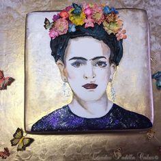 Frida Khalo Luxury Cake by Karen & Lourdes Padilla