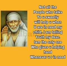 Sai Baba Pictures, God Pictures, Spiritual Religion, Spiritual Quotes, Sai Baba Miracles, Sai Baba Quotes, Baba Image, Om Sai Ram, India Art