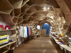 Retail Design | Store Interiors | Shop Design | Visual Merchandising | Retail Store Interior Design | Lucien Pellat-Finet Shinsaibashi / Kengo Kuma