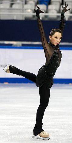 Elizaveta Tuktamysheva leads ladies at Russian Nationals