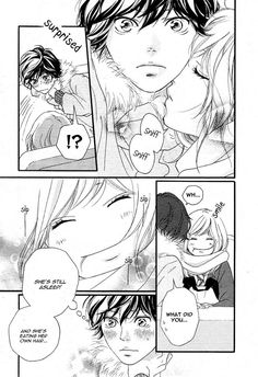 Ao Haru Ride 40 Page 18 THE FACES BOTH THESE CUTIES MAKE XD AHHHHH