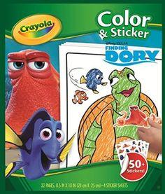 "Crayola 04-2007-0-000 ""Dory Colour N Sticker"" Book"