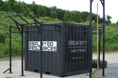 Containerized Gym Unit - Deployed Resources