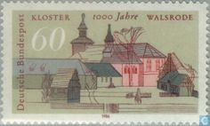 Postage Stamps - Germany, Federal Republic [DEU] - Walsrode Walsrode and convent…