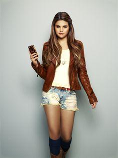 Selena Gomez Photoshoot | ... Printed Handkerchief Skirt. Selena Gomez Photoshoot for Case Mate