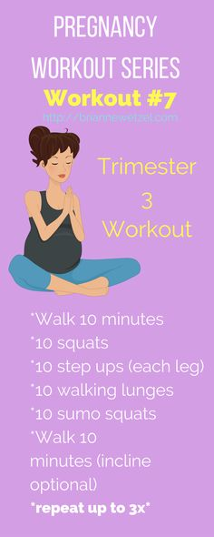 Great workouts to keep you moving throughout the third trimester of pregnancy