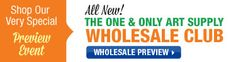 Art Supply Wholesale Club: Wholesale priced professional quality art supplies direct to the artist! Art Painting Supplies, Art Supplies, Club, Artist, Artists