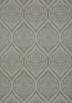 TANGIERS, Charcoal, T89147, Collection Damask Resource 4 from Thibaut