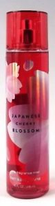 a bath and body works japanese cherry blossom fine fragrance mist 8 oz