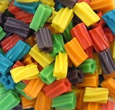 Licorice Rainbow Bites - Mini Twizzlers @Tammy Armstrong
