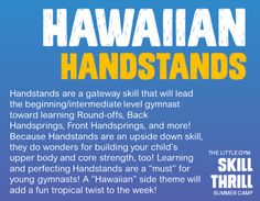 Want to Learn How to do a Handstand? Join us Thursday, July 23rd from 2-4 PM at The Little Gym of Houston Heights! 713-861-8200