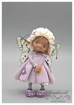 fairy puppets / fotogalerij | enaidsworld Diy Ooak Doll, Handmade Dolls, Kobold, Elves And Fairies, Fairy Figurines, Baby Fairy, Weird Creatures, New Dolls, Fairy Dust