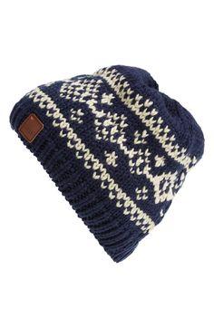 Cute beanie to keep warm in.