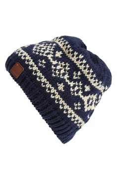 Cute beanie to keep warm in.