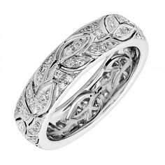 Ungar & Ungar Eternal Leaf Diamond Dress Ring