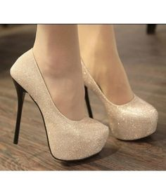 Sequinned Detailing Court Shoes