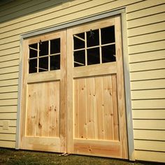 Great blog on building your own traditional carriage style garage on the rear of our barn i left an 8x8 hole to provide rear access at the time i wasnt sure whether i wanted to put an overhead door there or something solutioingenieria Image collections