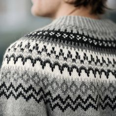 DG322-08 GENSER | Dale Garn Knitting Designs, Sweater Jacket, Creative Ideas, Knitted Hats, Projects, Sweaters, Jackets, Fashion, Dots