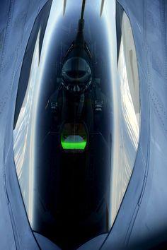 Raptor F22 cockpit