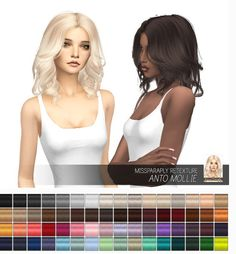 Miss Paraply: Anto Mollie: Solids • Sims 4 Downloads