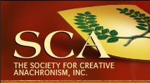 Society for Creative Anachronism (SCA):  The SCA is an international organization dedicated to researching and re-creating the arts and skills of pre-17th-century Europe.