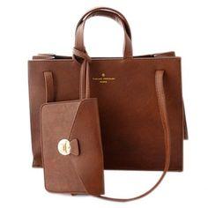 $31.02 Retro Solid Color and Small Wallet Design Women's Shoulder Bag