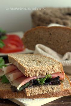 2Mandarinas en mi cocina: Pan de centeno y espelta