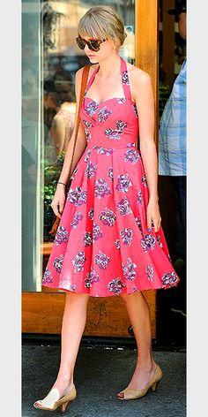 so girly, cute. Fun swirl it dress.