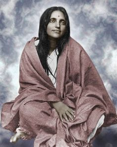 Anandamayi Ma , Divine Mother Ma you are a light of pure Beingness.... Deep within