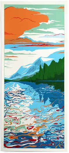 Blue Lake by Chris Keegan