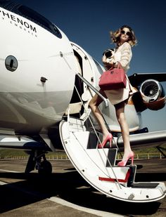 Fly to anywhere you like and enjoy ur vacation ;D