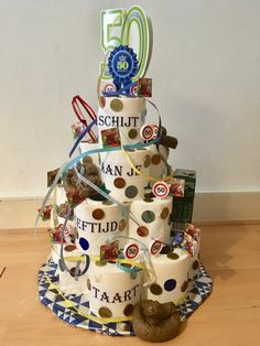 50th Birthday Gifts, Happy Birthday, Birthday Cake, Abraham And Sarah, Marcel, Holidays And Events, Funny Gifts, Party Time, Baby Gifts