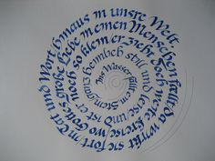 Made in 2007 in a calligraphy course