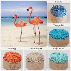 Btrix Dsigns :: nice tropical-looking yarn colorway