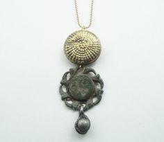 STUDIO NOLDS Sieraden - Copper artifact necklace Handmade Jewelry, Copper, Pendant Necklace, Studio, Fashion, Moda, Handmade Jewellery, Fashion Styles, Jewellery Making