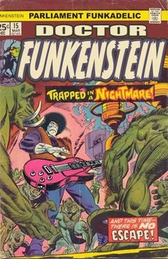 Marvel Comics Frankenstein, Vol. 1 no. Old Comic Books, Marvel Comic Books, Comic Book Covers, Old Comics, Vintage Comics, James Brown, Chris Sims, Supernatural, Parliament Funkadelic