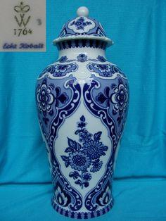 vase cobalt real Walldorf W 1764 China